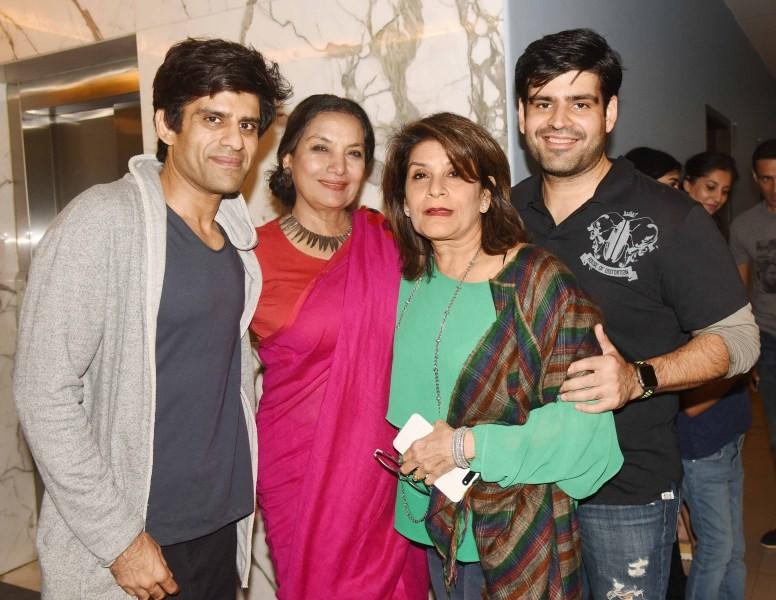 Ayushmann Khurrana,Kriti Sanon,director Ashwiny Iyer Tiwari,creative producer Juno Chopra,Abhay Chopra,Shabana Azmi,Feryna Wazheir,Bareilly Ki Barfi,Bareilly Ki Barfi special screening