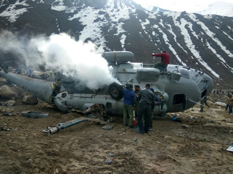 IAF chopper crash,IAF chopper,IAF chopper accident,Kedarnath,Kedarnath temple