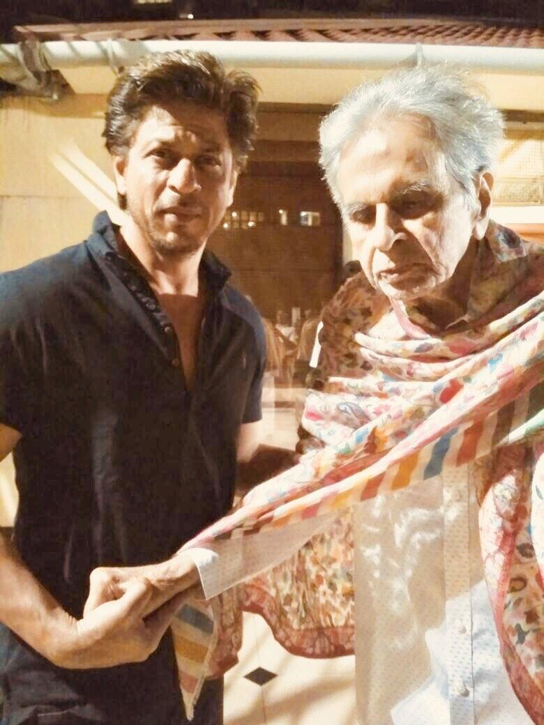 Shah Rukh Khan with Dilip Kumar,Shah Rukh Khan,Dilip Kumar