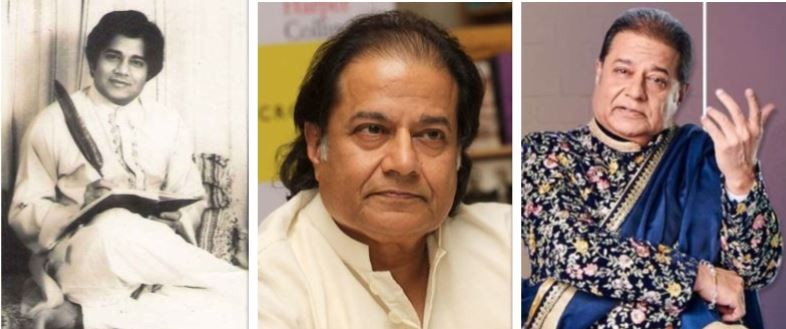 Anup Jalota then and now