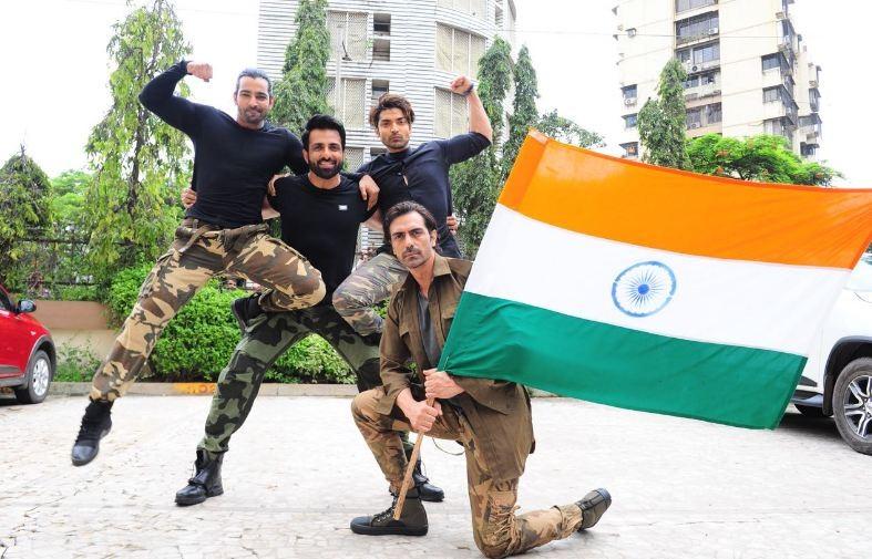 Gurmeet Choudhary,Harshvardhan Rane,Arjun Rampal,Sonu Sood,Independence Day,Independence Day celebration,Independence Day 2018