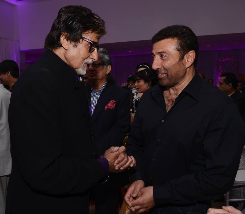 Amitabh Bachchan and Sunny Deol