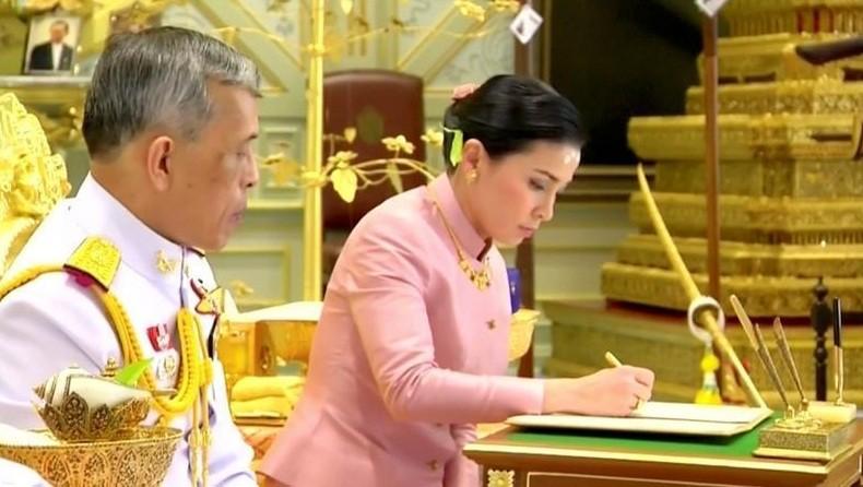 King Maha Vajiralongkorn and Queen Suthida