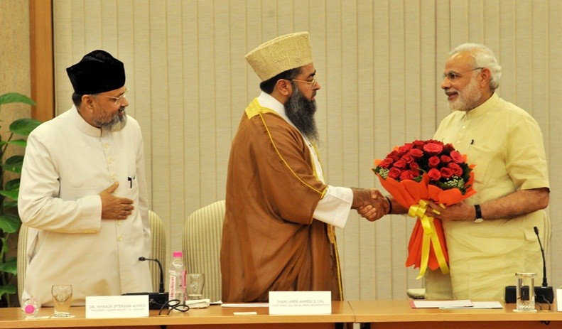 Modi met Muslim leaders
