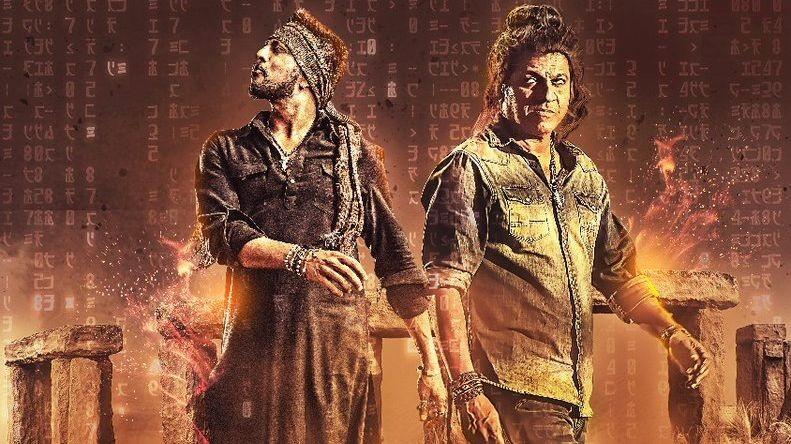 Sudeep and Shivaraj Kumar in The Villain