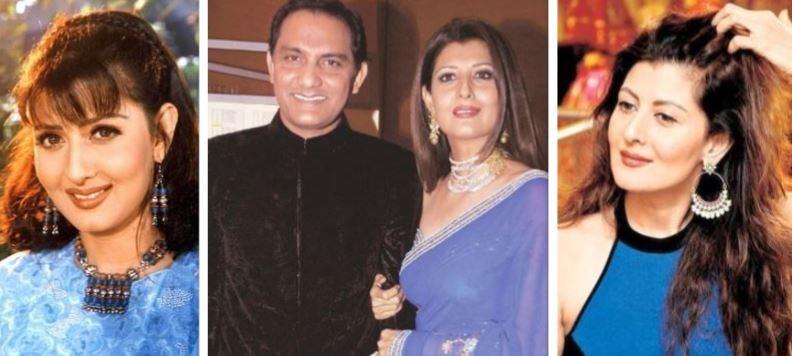 Sangeeta Bijlani and Mohd Azharuddin