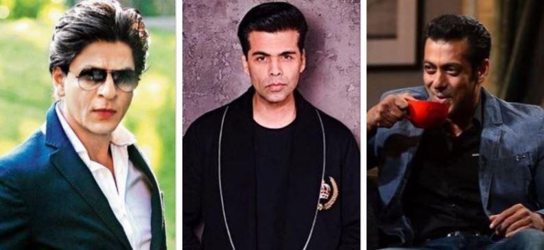 Shah Rukh Khan, Karan Johar, Salman Khan