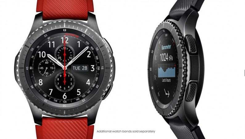 Samsung, Tizen, Gear S3, Frontier, features, price,