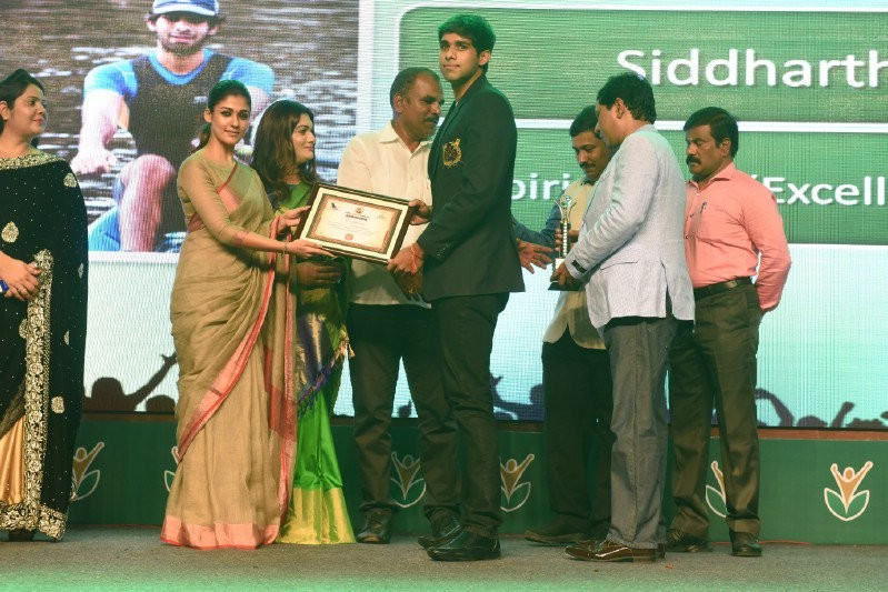 Nayanthara,Prasanna,Sneha,National sports day Amma awards 2016,Amma awards 2016,Amma awards,National Sports Day,Director Atlee