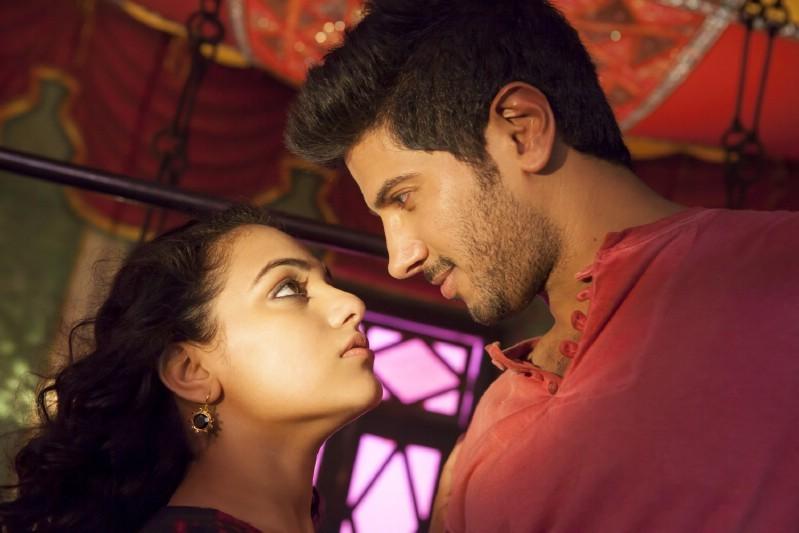 Ok Bangaram,telugu movie Ok Bangaram,Dulquer Salman,Nithya Menon,Mani Ratnam,Mani Ratnam movie,A.R.Rahman,Ok Bangaram movie pics,Ok Bangaram movie stills