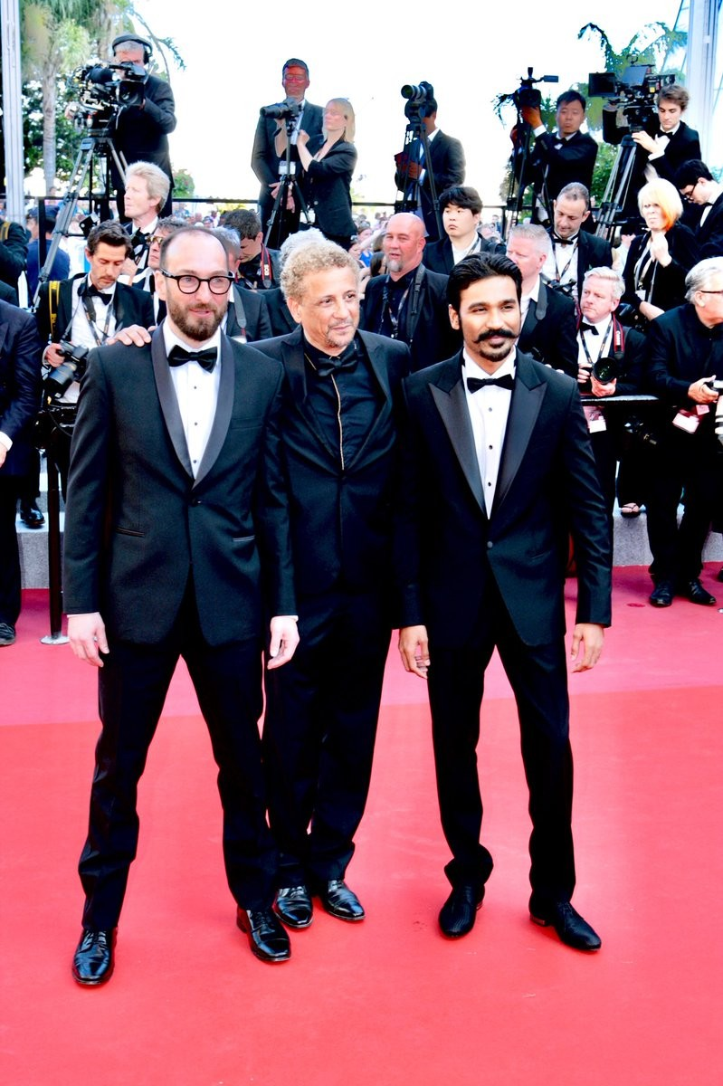 Cannes Film Festival,Cannes Film Festival 2018,Dhanush,actor Dhanush,71st Cannes Film Festival,Dhanush at Cannes,Dhanush Cannes pics,Dhanush Cannes images