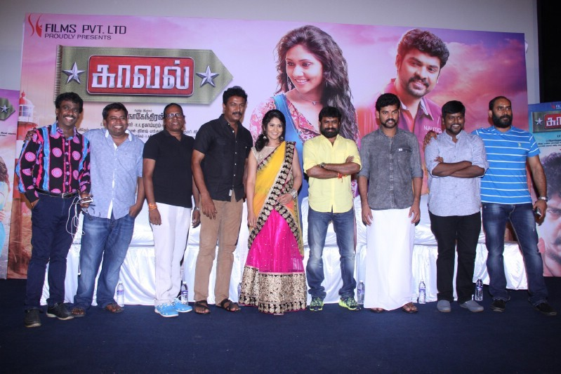 Kaaval Movie Press Meet,Kaaval,tamil movie Kaaval,Kaaval audio launch,Vimal,Punnagai Poo Gheetha,Gheetha,Samuthirakani,event,tamil event