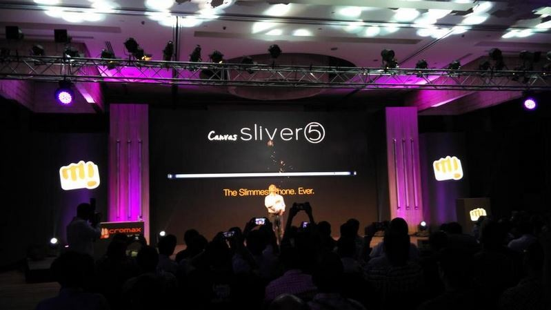 Micromax Launches Ultra-Slim Canvas Sliver 5 with Snapdragon 410 SoC in India; Price, Specifications