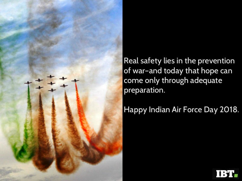 Happy Indian Air Force Day 2018 Quotes Slogans Whatsapp Status