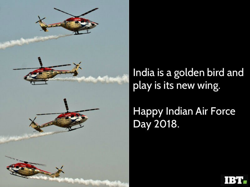 Indian Air Force Quotes In Hindi: Happy Indian Air Force Day 2018: Quotes, Slogans, Whatsapp