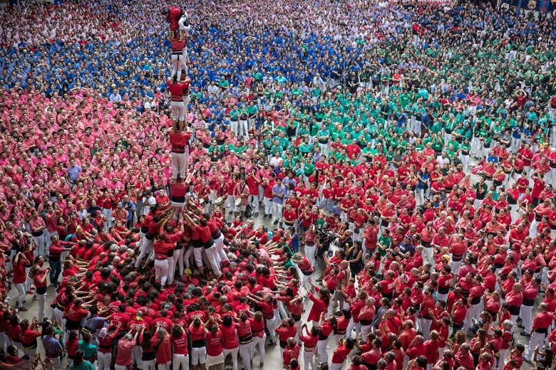 Catalan,Catalonia,human tower spain tarragona,human tower tarragona,human tower photos,human tower,catalan independence,catalan tradition