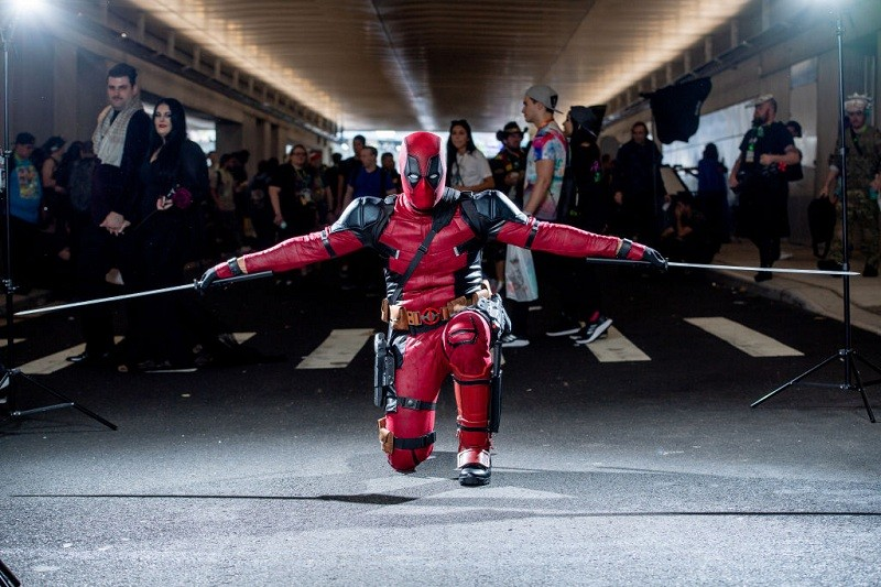 New York Comic Con,new york comic con schedule,new york comic con panel,Cos-players,Costumes,Deadpool,Black Panther,Wonder Woman