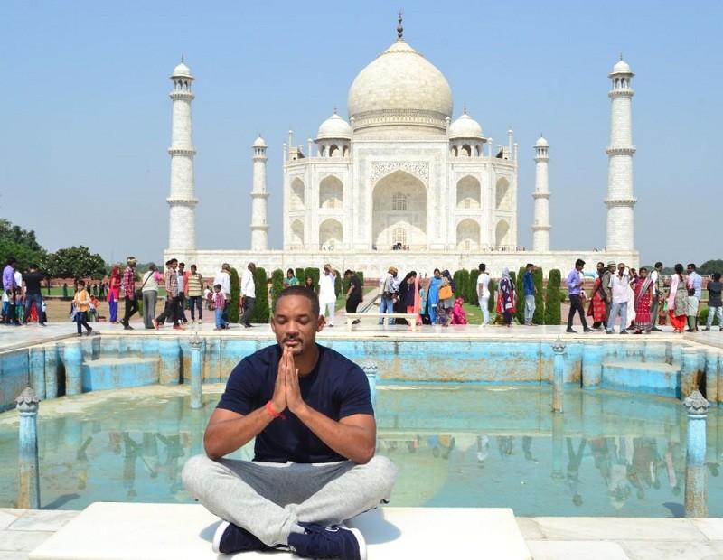 Taj Mahal,Taj Mahal Agra,Agra Taj mahal,Will Smith in Taj Mahal,Canadian Prime Minister Justin Trudeau,Julia Roberts,Ben Kingsley,Leonardo DiCaprio,Arnold Schwarzenegger