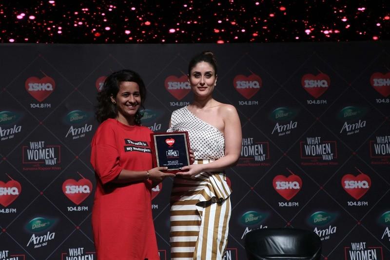 Ishq FM,Ishq 104.8FM,Kareena Kapoor Khan,Kareena Kapoor Turns RJ,What Women Want,radio jockey,RJ Kareena,Mumbai