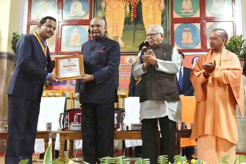 Ram Nath Kovind,Ram Nath Kovind president,ram nath kovind caste,Uttar Pradesh,Ram Naik,Yogi Adityanath,yogi adityanath up cm,Maharana Pratap Shiksha Parishad