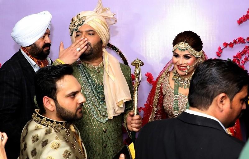 Kapil sharma,kapil sharma show,kapil sharma new show,kapil sharma girlfriend,kapil sharma Ginni Chatrath,Kapil Sharma wedding,Ginni Chatrath,ginni kapil sharma