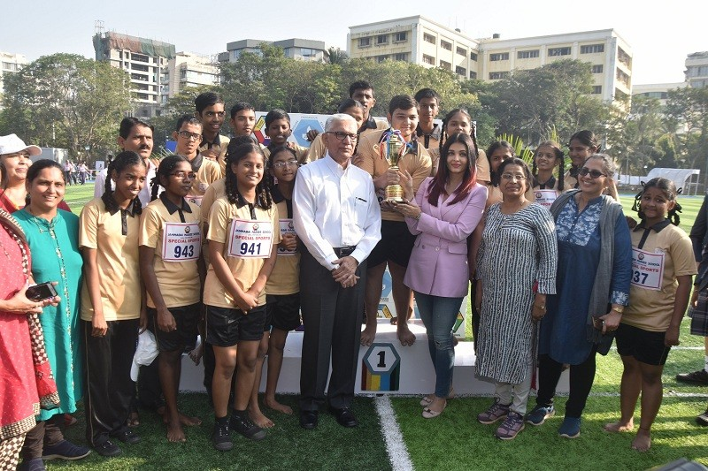 AIshwarya Rai Bachchan,Narsee Monjee Educational Trust,differently abled,Sports Day,disabled children,Children's Charity,Jamna Bai School,Mumbai,Aishwarya rai Bachchan photos