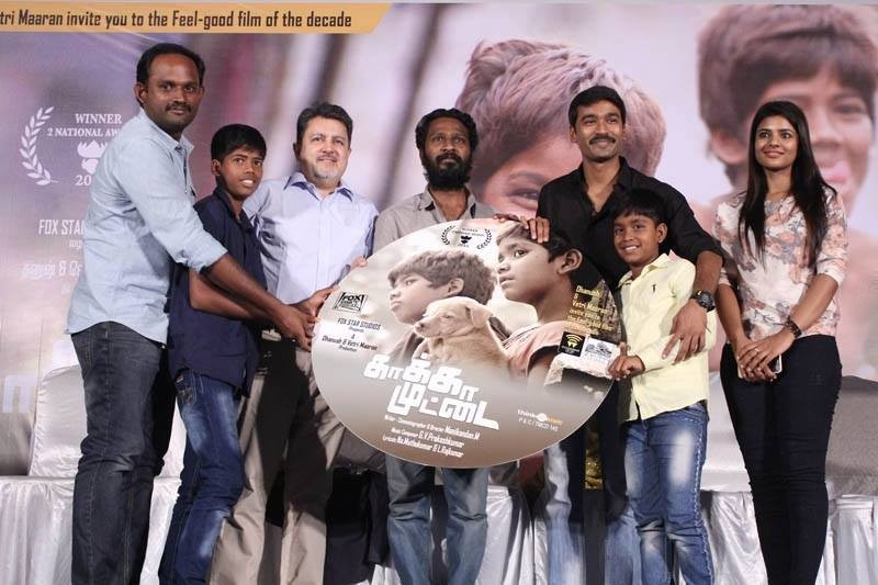 Kaaka Muttai Audio Launch,Kaaka Muttai,tamil movie Kaaka Muttai,dhanush,actor dhanush,dhanush at Kaaka Muttai Audio Launch,Kaaka Muttai Audio Launch pics,Kaaka Muttai Audio Launch images,Kaaka Muttai Audio Launch photos,Kaaka Muttai Audio Launch stills