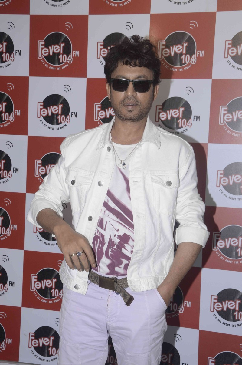 Irrfan Khan Promotes Piku At Red FM,Irrfan Khan,Piku,Piku movie,bollywood movie Piku,Red FM,Irrfan Khan pics,Irrfan Khan images,Irrfan Khan photos,Irrfan Khan in piku,Irrfan Khan pictures,Irrfan Khan latest pics