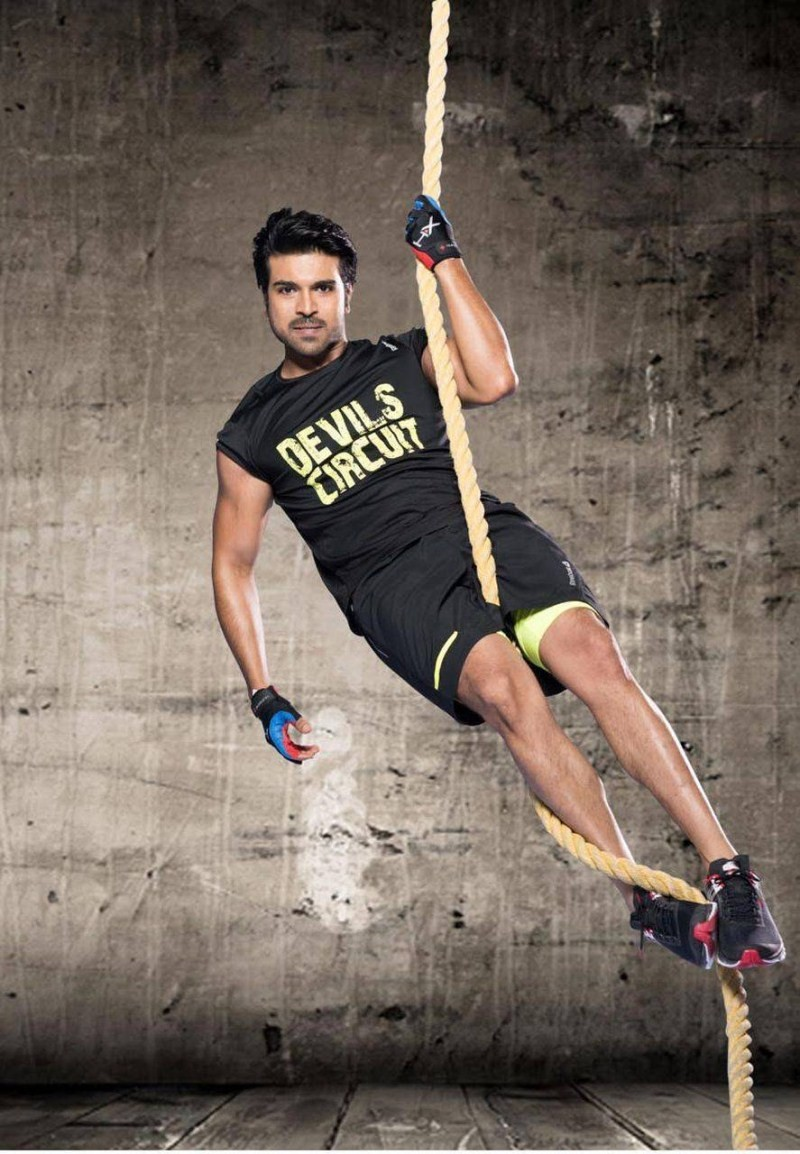 South Indian Actor Ram Charan Teja Photoshoot for Volano Brand Ambassador