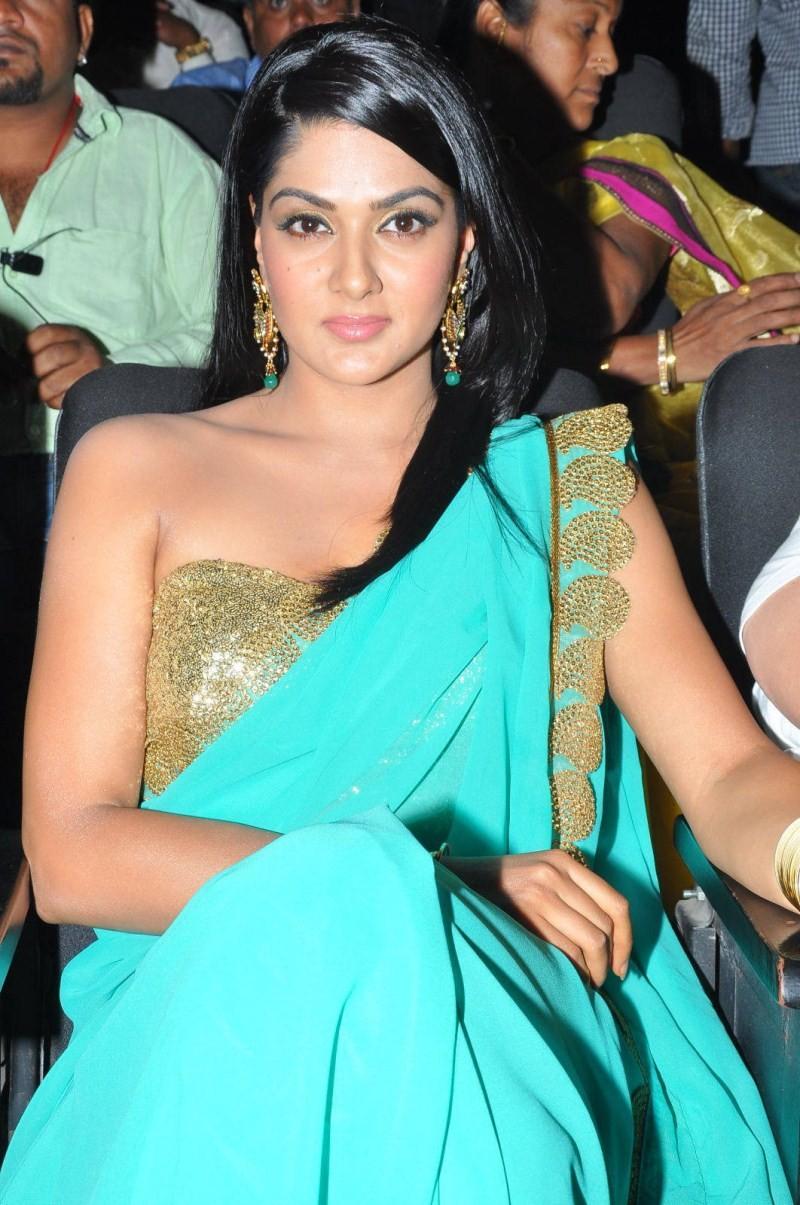 Telugu Actress Sakshi Chaudhary at James Bond Audio Launch