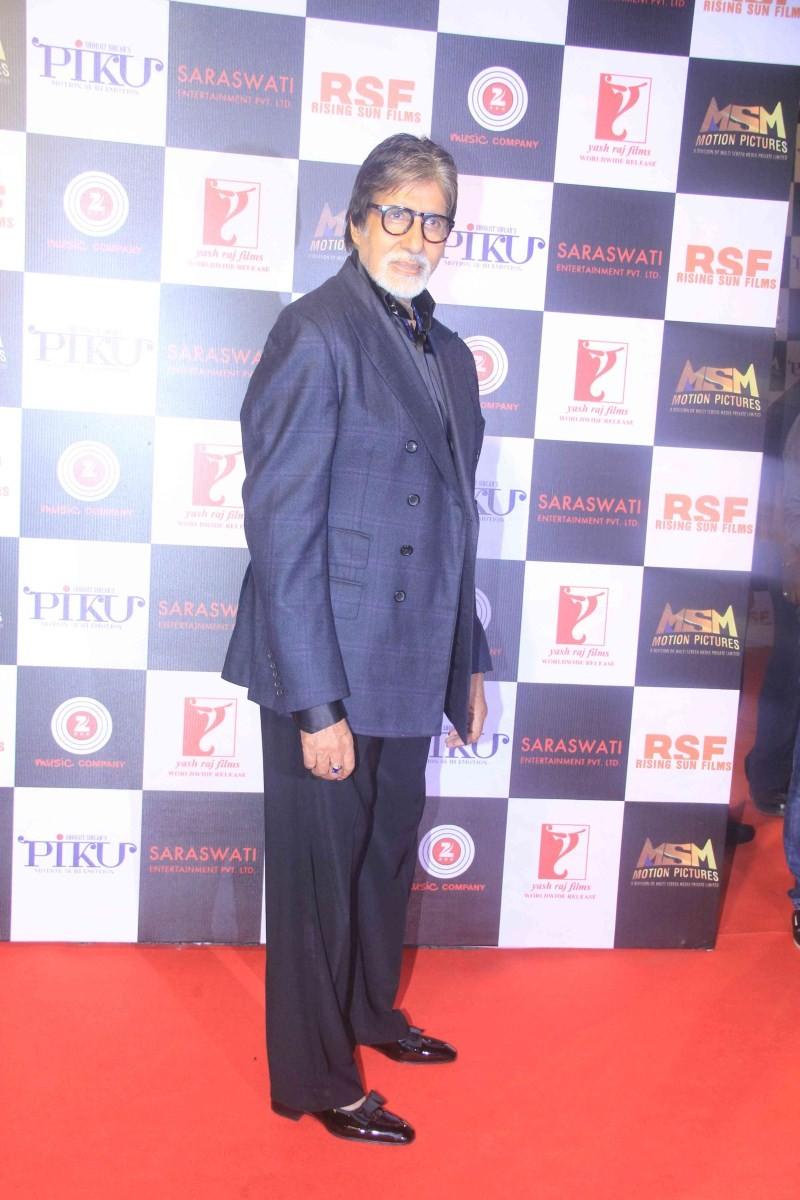 Bollywood Actor Amitabh Bachchan at Piku Success Party