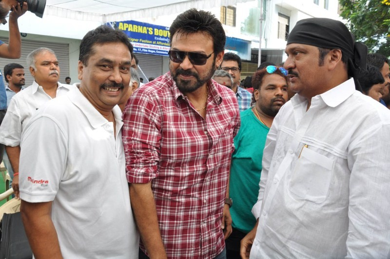 Telugu Film Industry Swachh Bharat Campaign at Hyderabad - Photos