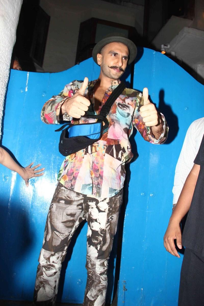 Ranveer Singh at Piku Success Party,Ranveer Singh,Piku Success Party,actor Ranveer Singh,Piku Success Party pics,Piku Success Party  images,Piku Success Party photos,Piku Success Party stills,Ranveer Singh pics,Ranveer Singh images,Ranveer Singh photoos,R