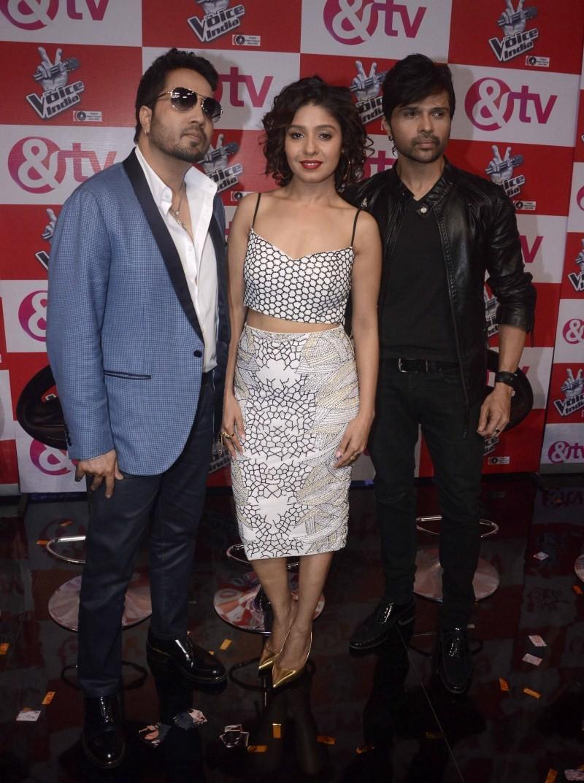 &TV Channel Unveils New Music Show: The Voice India,The Voice India,&TV Channel Unveils New Music Show,&TV Channel,Mika Singh,Sunidhi Chauhan,Himesh Reshammiya