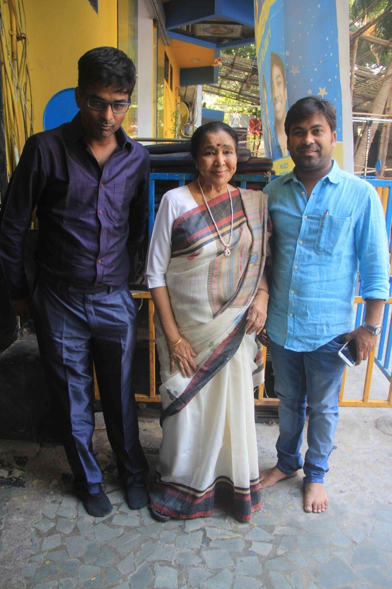 Asha Bhosle Records song for Film Lucknow Times,Singer Asha Bhosle,Asha Bhosle,Lucknow Times,Asha Bhosle pics,Asha Bhosle images,Asha Bhosle stills,Asha Bhosle photos