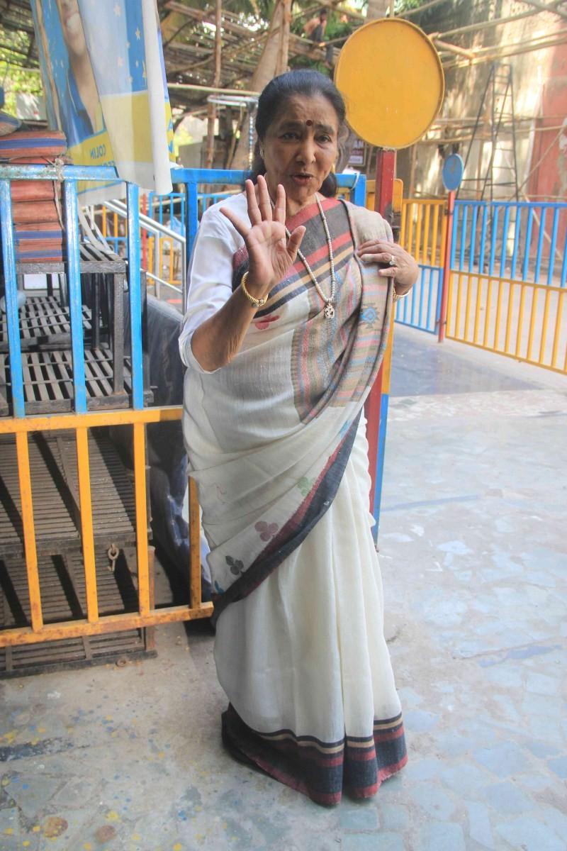 Asha Bhosle Records song for Film Lucknow Times,Singer Asha Bhosle,Asha Bhosle,Lucknow Times,Asha Bhosle pics,Asha Bhosle images,Asha Bhosle stills,Asha Bhosle photos
