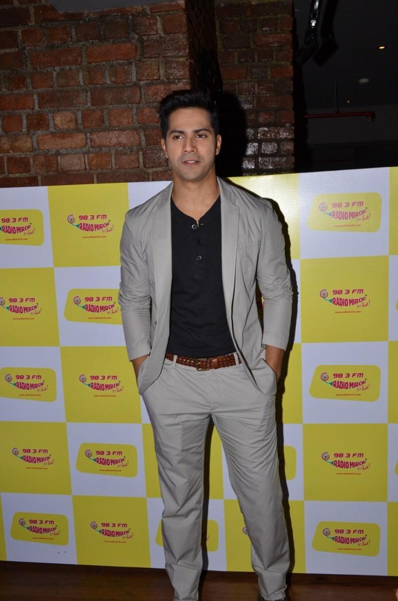 Varun Dhawan at Radio Mirchi's Mirchi Top 20 awards