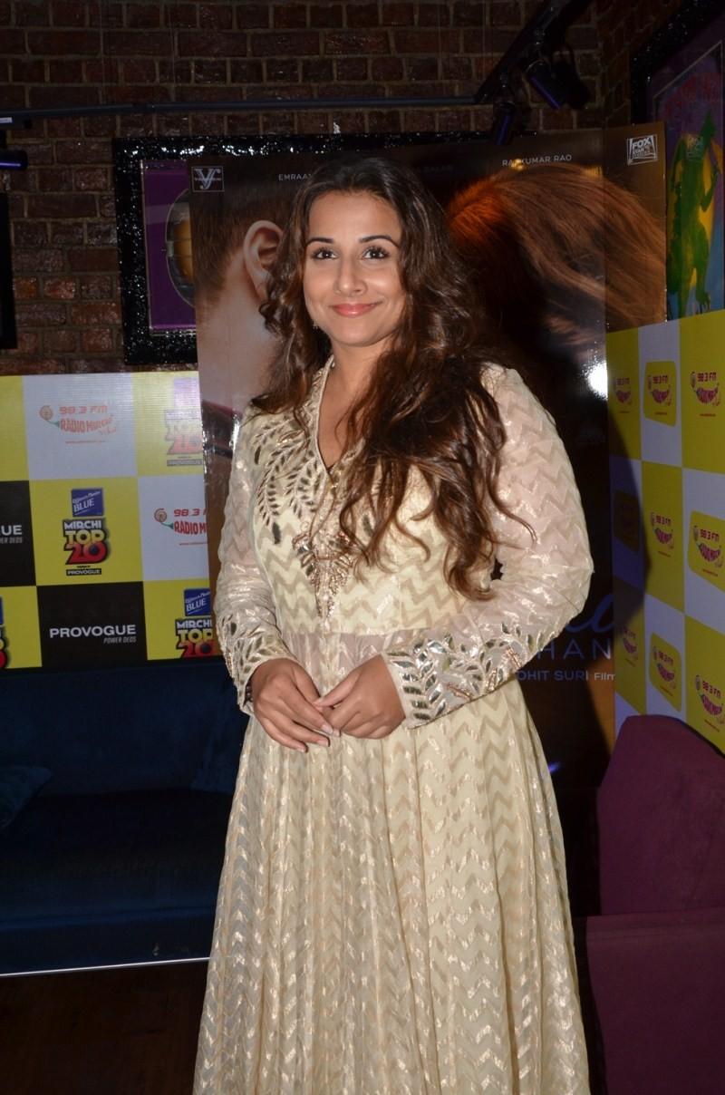 Vidya Balan at Radio Mirchi's Mirchi Top 20 Awards