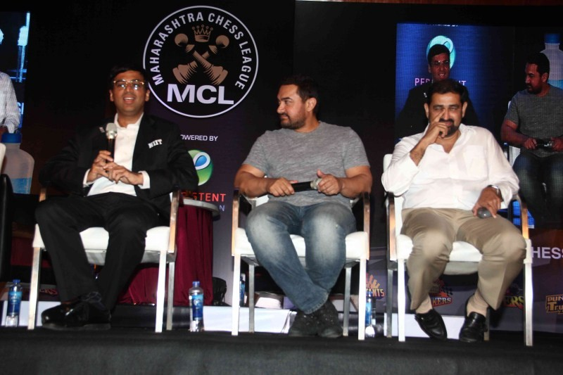 Aamir Khan and Vishwanathan Anand announce 3rd Edition of Maharashtra Chess League,Aamir Khan,Vishwanathan Anand,3rd Edition of Maharashtra Chess League,Maharashtra Chess League