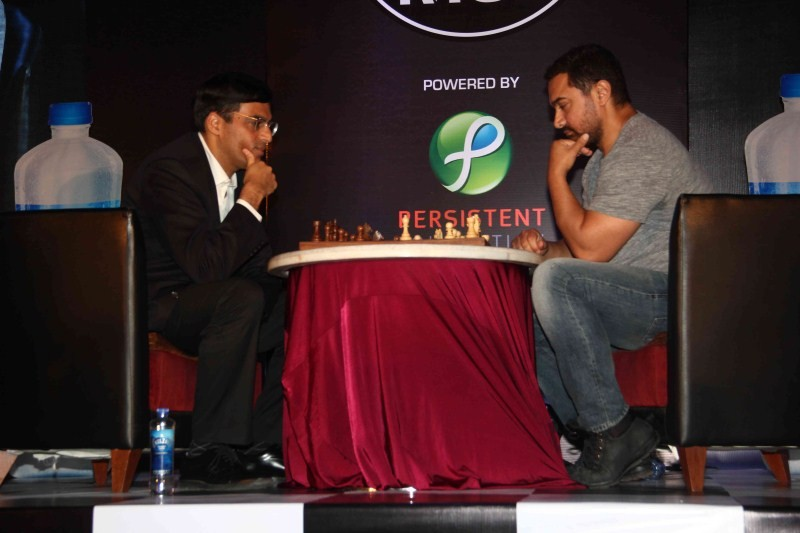Aamir Khan and Vishwanathan Anand announce 3rd Edition of Maharashtra Chess League,Aamir Khan,Vishwanathan Anand,3rd Edition of Maharashtra Chess League,Maharashtra Chess League