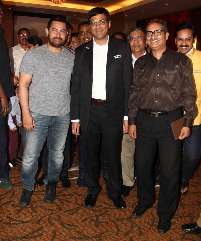 Aamir Khan and Vishwanathan Anand announce 3rd Edition of Maharashtra Chess League