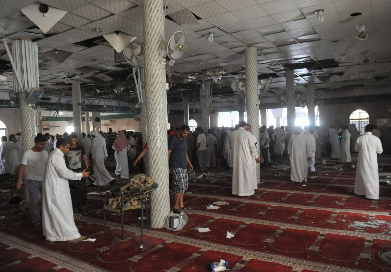 ISIS Suicide Bomber attacks Saudi Shiite Mosque,ISIS Suicide Bomber,Saudi Arabia attack,Al Qudaih,Mosque attack,ISIS suicide bomber attacks,Shiite mosque,Saudi Press Agency,terrorist cell,terrorist attack,terrorist attack on Mosque