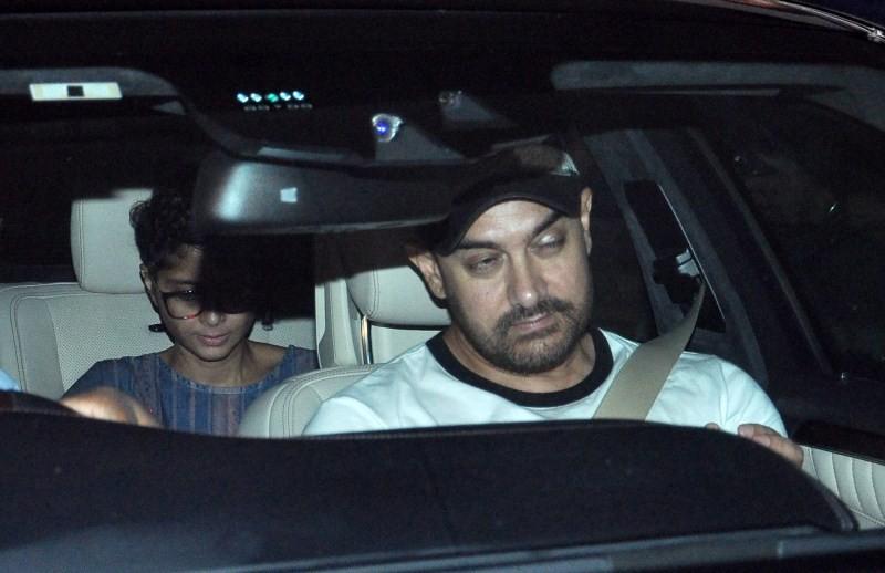 Aamir Khan snapped at Lightbox