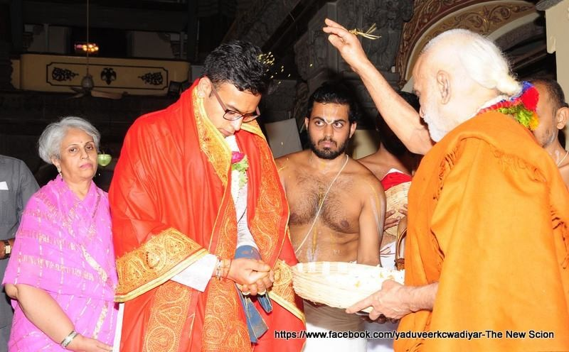 Ceremony of Yaduveer Wadiyar as Maharaja of Mysore,Yaduveer Wadiyar as Maharaja of Mysore,Maharaja of Mysore,new mysore Maharaja,mysore Maharaja,Mysore King Coronation,Yaduveer Wadiyar,new king of Mysore,new king of Mysore Yaduveer Wadiyar,mysore palace,A