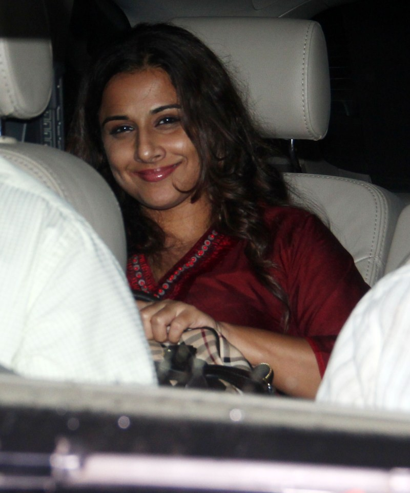 Actress Vidya Balan at Hamari Adhuri Kahani Special Screening