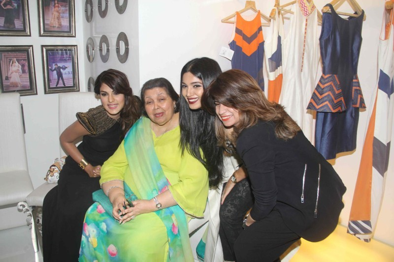 First Anniversary Of Diva'ni Fashion Brand,Diva'ni Fashion Brand,Bhumi Pednekar,Sanya Dhir,Rhea Chakraborty,Diva'ni Fashion Brand pics,Diva'ni Fashion Brand images,Diva'ni Fashion Brand photos