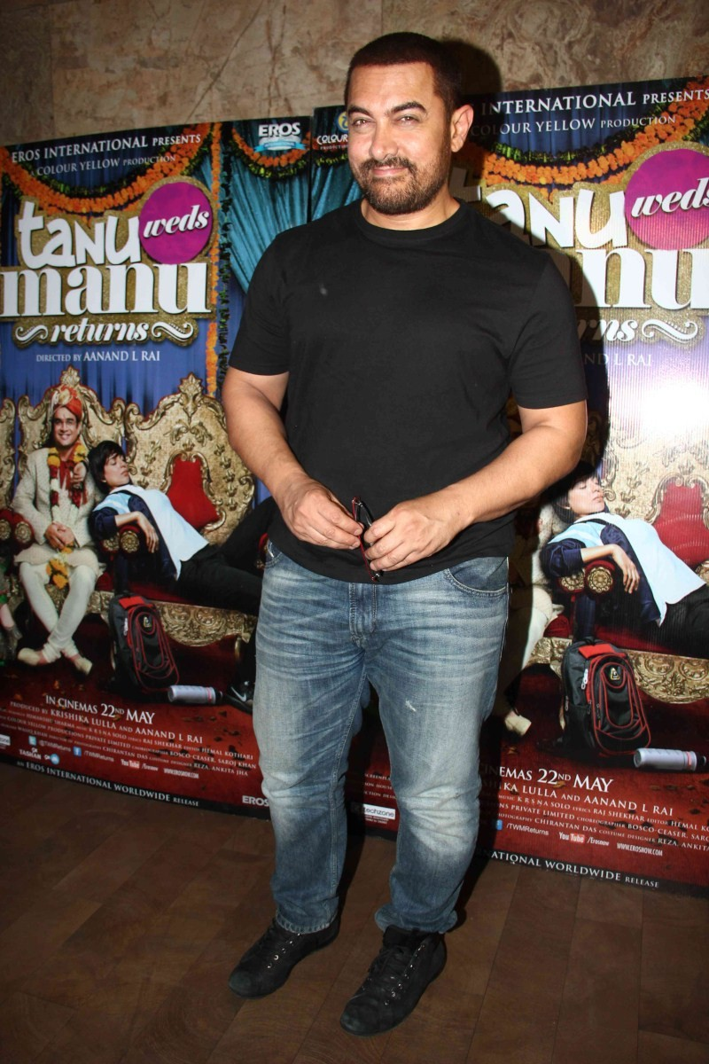 Aamir Khan watch Tanu Weds Manu Returns at Light Box,Aamir Khan watches Tanu Weds Manu Returns,Tanu Weds Manu Returns,Aamir Khan,actor Aamir Khan,Aamir Khan pics,Aamir Khan images,Aamir Khan photos,Aamir Khan stills,Aamir Khan latest pics,Aamir Khan lates