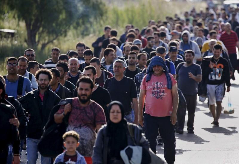 Refugees Arrive on Greek Island,Refugees on Greek Island,Refugees land on Greek island,Greek island,south-eastern Aegean Sea,Aegean Sea,Syrian,Afghan immigrants