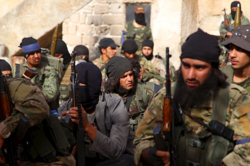 Syria rebels,Idlib's Last Stand,Syria's northwestern province,Rebels capture last Syrian town,Rebels capture Syrian town,al Qaeda's,al Qaeda's Nusra,rebel fighter