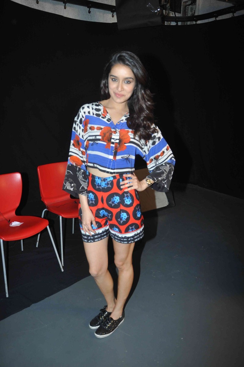 Actress Shraddha Kapoor promote ABCD 2 Movie
